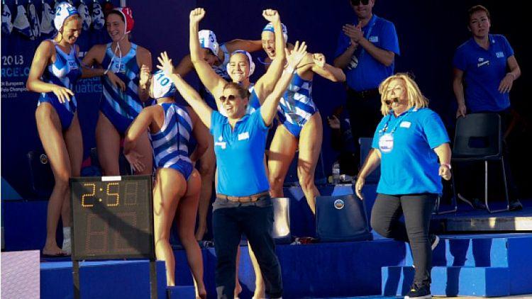 cce7d539185f Ευρωπαϊκό πρωτάθλημα πόλο  Στη δεύτερη θέση η Εθνική γυναικών ...